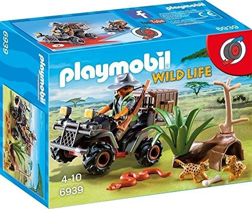 Playmobil Vida Salvaje- Explorador Quad Playset Figuras