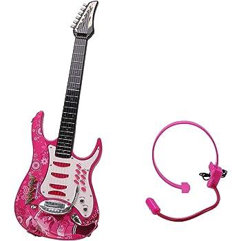 Rolanli Guitarra para Niños, 72cm 6 Cuerdas Guitarra Eléctrica de ...