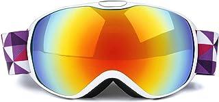 Double Layer Anti Fog Ski Goggles For Children Ski Goggles Outdoor Mountaineering Wind Proof Ski Goggles