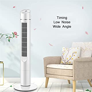 Portátil Oscilante Ventilador de Torre Climatizador Portátil Seguridad Ventilador Sin Cuchillas Enfriador De Aire Compacto Ventilador De Pie Con Teledirigido Para Interiores-b 31x13x105cm/12x5x41inch