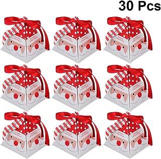 5x5x7,5cm Naler 40 Caja de Regalo Caja de Caramelo Dulces Boda Fiesta Bautizo Comuni/ón Navidad Color Dorado y Plateado