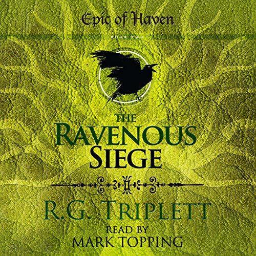 Couverture de The Ravenous Siege