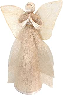 Heavenly Abaca Angel Ornament, Decoration or Tree Topper