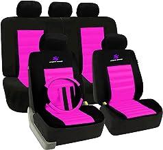 Trabant 57-91 Autositzbezüge Pink Komplettset Sitzbezug Auto Bezug Schonbezüge