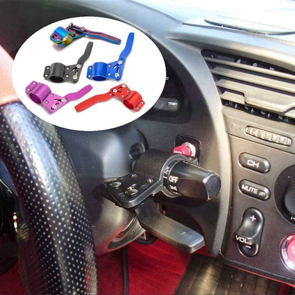 Blue Epman EP-CA077 Aluminium Car Styling Adjustment Steering Wheel Signal Rod Extender Steering Wheel Turn Rod Extension Turn Signal Lever Position Up Kit
