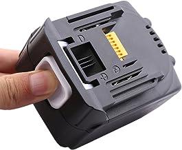 URUN BL1450 14.4V 5.0Ah Batería de ión de litio Reemplace por Makita BML146 DML805 ML140 ML143 DML802 Batería Lámpara DCL142Z Aspiradora DPT350RMJ Batería Puncher DJV141RM1J Péndulo Jigsaw