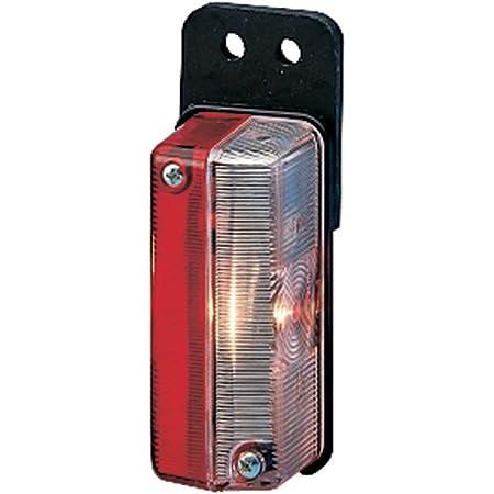 Hella 2xs 005 020 011 Umrissleuchte T4w 12v 24v Lichtscheibenfarbe Glasklar Rot Anbau Einbauort Seitlicher Anbau Auto