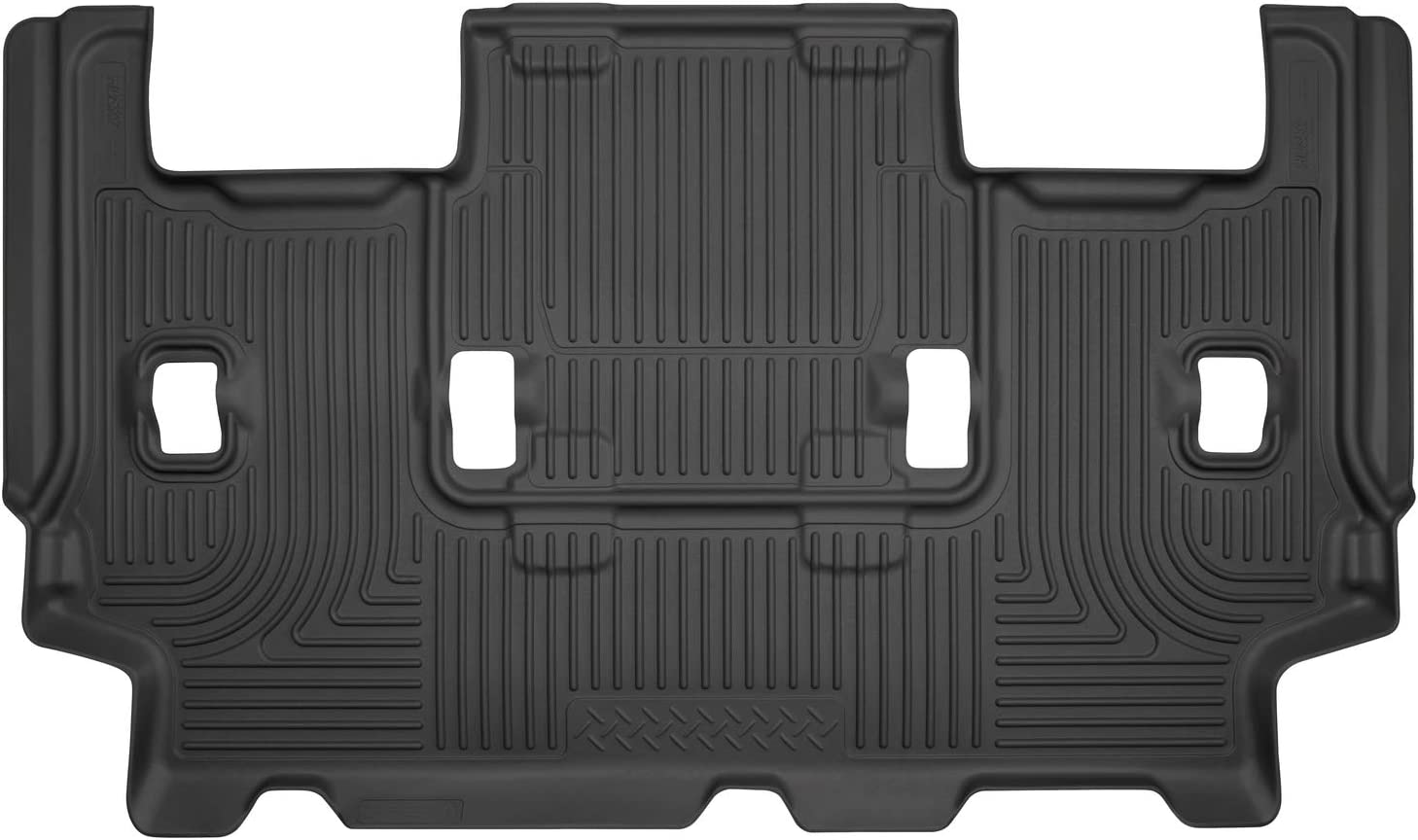 Husky Liners Fits 2007-17 Ford Expedition EL, 2007-17 Lincoln Navigator L Weatherbeater 3rd Seat Floor Mat,Black,14321