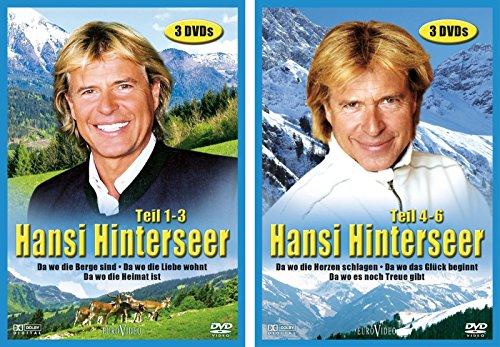 Hansi Hinterseer: Da wo die Berge sind, Teil 1-6 (6 DVDs)
