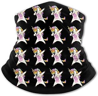 Dabbing Unicorn - Pasamontañas para el cuello con protección UV, resistente al viento, multifunción, para niños y niñas