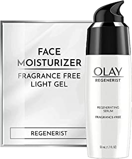 Best Olay Regenerist Regenerating Serum, Fragrance-Free Light Gel Face Moisturizer 1.7 fl oz Reviews