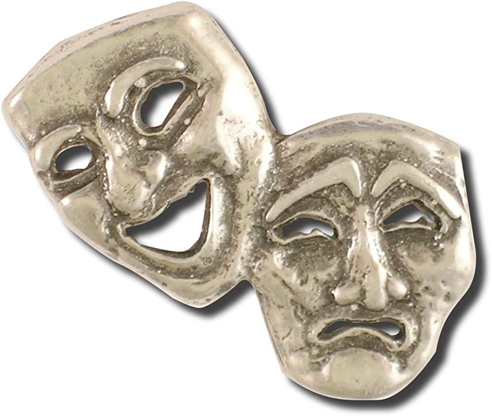 Theater Popularity Mask Pin Long-awaited