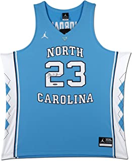 MICHAEL JORDAN NORTH CAROLINA BLUE NIKE JERSEY