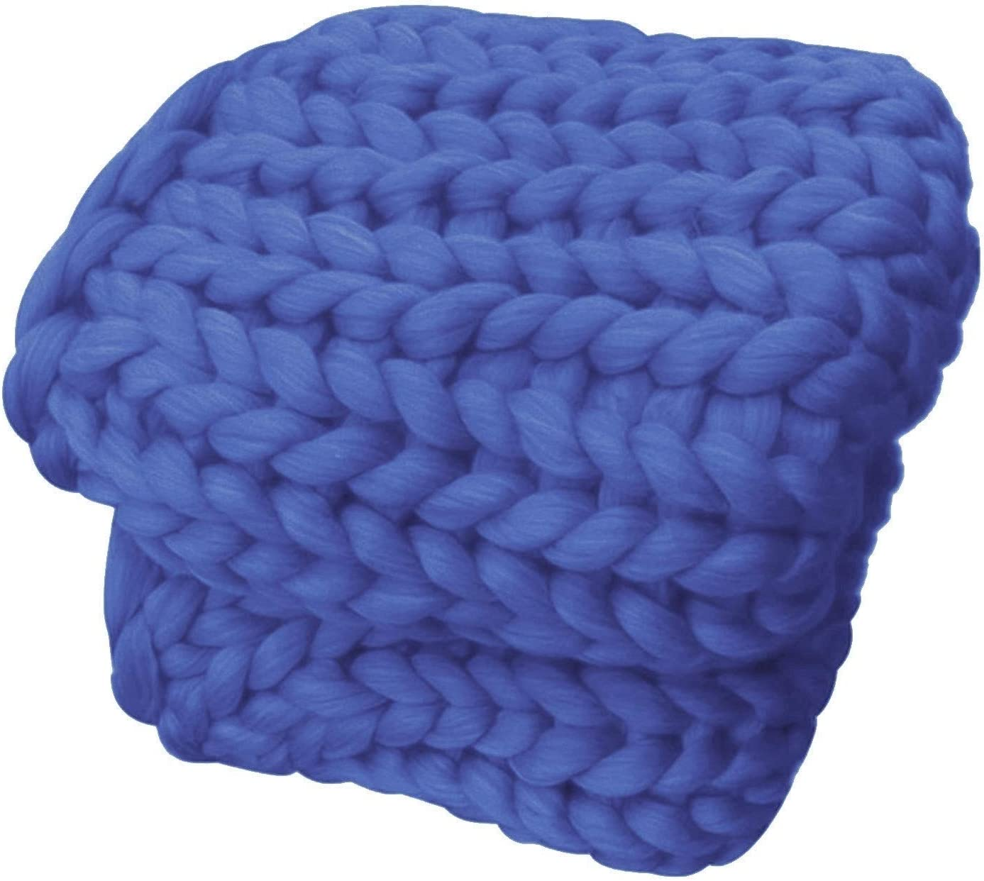 MZP Chunky Knit Blanket for Throw Bla Super Bed High order trust Soft