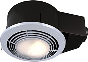 Broan-Nutone  QT9093WH  Heater, Fan, and Light Combo for Bathroom and Home, 4.0 Sones, 1500-Watt Heater and 100-Watt Light, 110 CFM