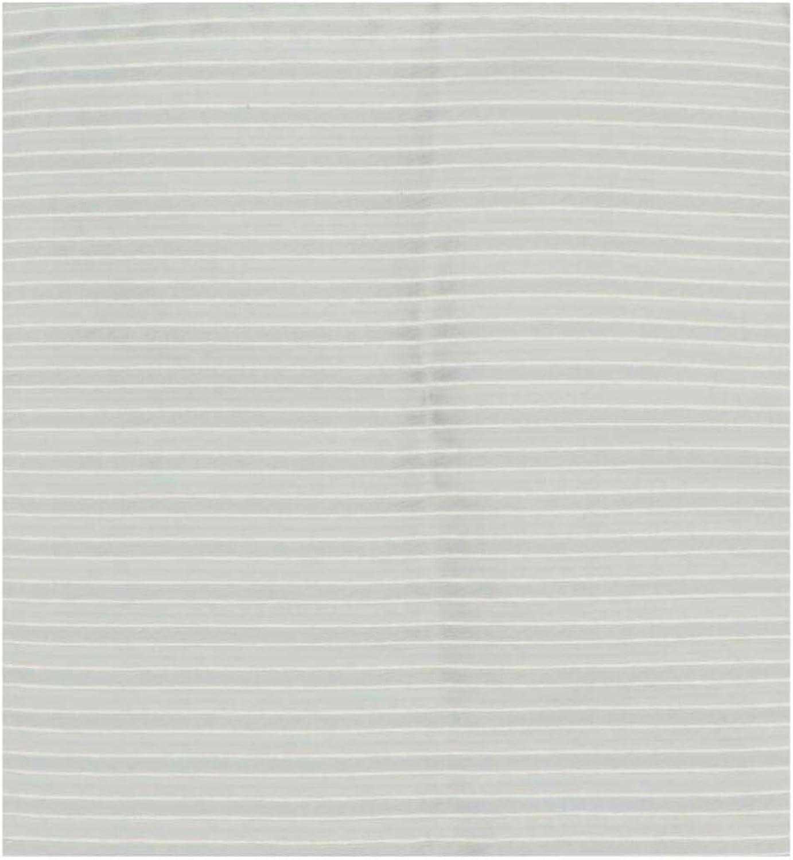 Carrot and Gibbs Men's Alternating Weave Striped Silk Pocket Square