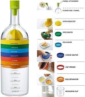 comprar comparacion Locisne 8 en 1 herramienta de la cocina,su multifuncionalidad,recipiente de plástico de botellas Esenciales Herramientas d...