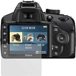 6x protector de pantalla para Nikon D40 Película De Plástico Protección Invisible Shield Claro