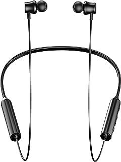 【令和最新版bluetooth5.0】Bluetoothイヤホン最大20時間連続再生 スポーツワイヤレスイヤホンIPX7防水マグネット搭載Hi-Fi高音質EDR搭載AAC対応CVC8.0ノイズキャンセリングブルートゥースイヤホンマイク付きハンズフリー通話自動ペアリング音量調節可能Siri/iPhone/ipad/Android対応 PSE&技適認証済