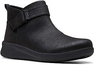 Clarks Women's Sillian 2.0 West Ankle Boot, Black, 10 W
