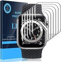 LK 6 Pack Screen Protector for Apple Watch Series 6 40mm, Model No. KR640, HD Transparent, Flexible TPU Film