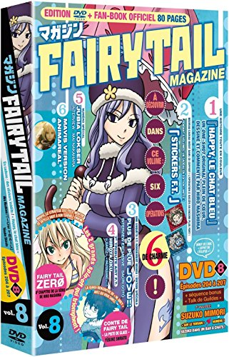 Fairy Tail Magazine-Vol. 8 [Édition Limitée]