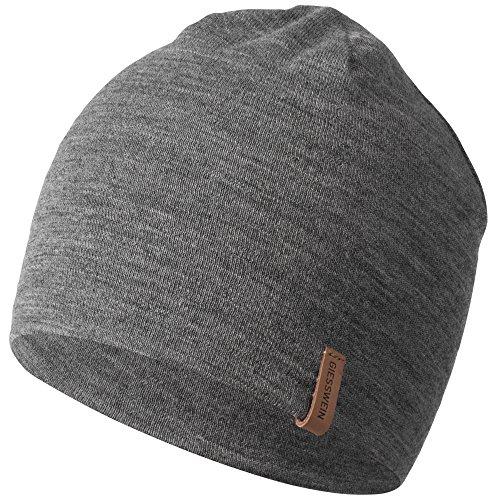 GIESSWEIN Merinomütze Gehrenspitze - Winter Mütze aus 100% Merino Wolle, Unisex Sports Beanie, atmungsaktive Mütze für Damen & Herren, leicht & temperaturregulierend