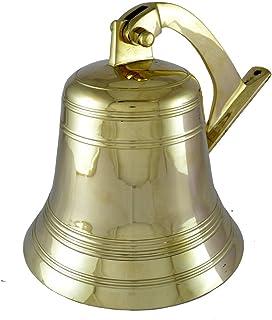 Brass Nautical Brass Bell Ship Bell Doorbell Small Bell Us Navy Clock Indian Bells Hanging Bell Brass Bell For Sale Wall M...