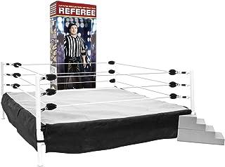Special Deal: Wrestling Ring for Action Figures & Talking Wrestling Referee Figure