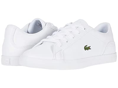 Lacoste Kids Lerond 119 5 (Little Kid) (White/White) Kid