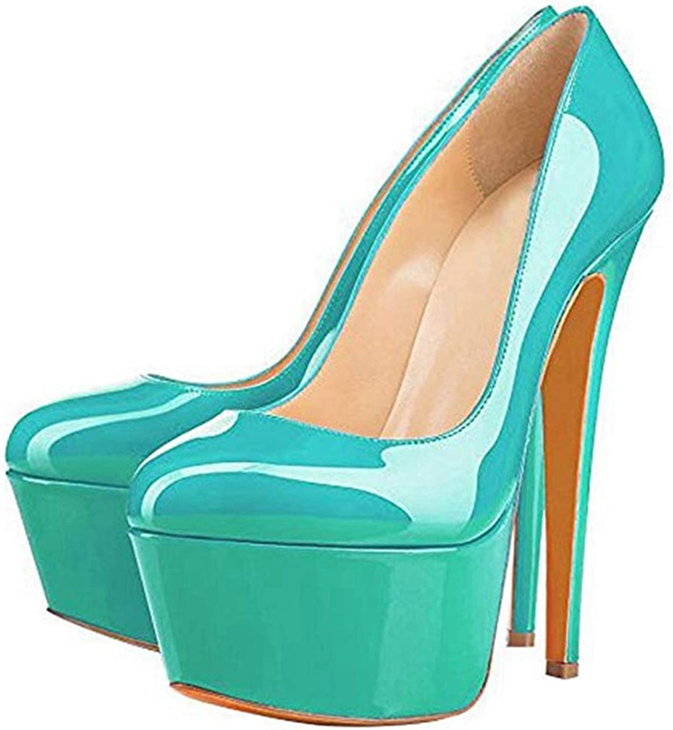 Heeled Sandal for Women Green Stiletto Pump Ladies Classic Party Wedding High Heel shoes