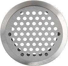 Ventilatiegatplaat 20 stks roestvrijstalen sleuven grille kast uitlaat ventilatie grille set air vent luchtcirculatie rond...