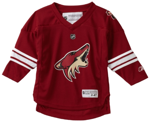 NHL Toddler Phoenix Coyotes Team Color Replica Jersey - R54Hwbxx (Maroon, 2T-4T)