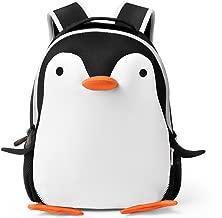 Deer Mum Kids Children Cute Cartoon Animal Schoolbag Toddler Backpack Neoprene Backpack (penguin)