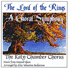 Katy Chamber Chorus Lord Of The Rings: Choral Symphony Symphonic Music