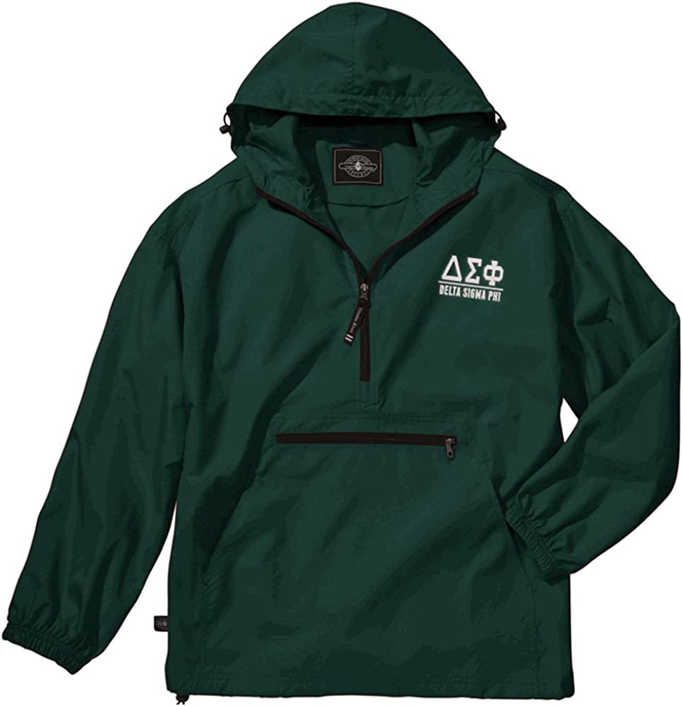 Delta Sigma Phi Pack-N-Go Pullover