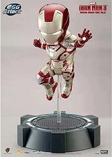 Kids Logic Beast Kingdom Egg Attack Iron Man Mark XLII Mark 42 Iron Baby Lights up Statue MISB