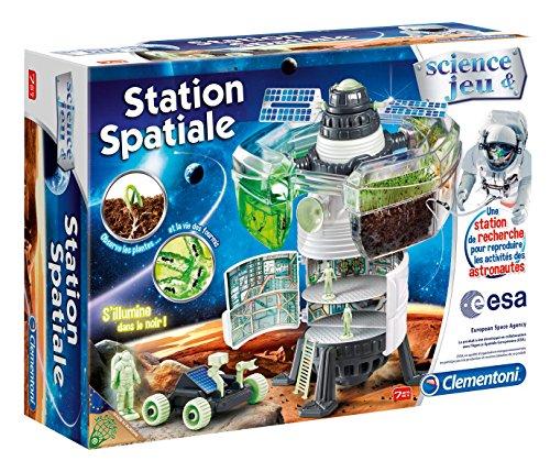 Clementoni - 52111-Station spatiale-Jeu scientifique