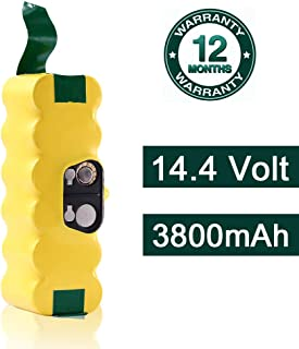3.8Ah Battery Compatible with iRobot Roomba 14.4v R3 500,600,700,800,900 Series