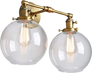 double sconce lights