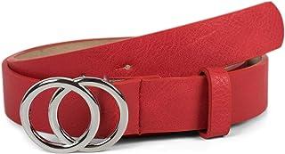 BeltKings Cintura larga casual da donna Cintura vuota senza ago Cintura da donna alla moda