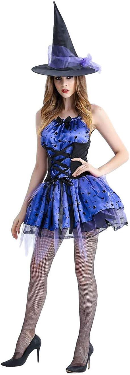 35% OFF WCNMD Halloween Gifts Female Cosplay Costumes Co Witch