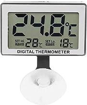 ECSWP YAJJA Habitación Termómetro Digital Interior Medidor de Humedad Temperatura Termómetro higrómetro al Aire Libre sin Hilos
