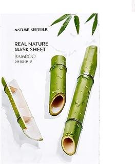 Nature Republic Real Nature Mask Sheet BAMBOO 10pc SET Daily Mask Korea