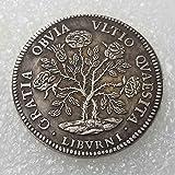 Le monete d'Argento dell'antica Italia sono una delle monete più raccolte al mondo! Abbiamo 589 di monete in magazzino e pronti per essere spediti Cara, questa vecchia moneta è realizzata in Ottone; la vecchia moneta è placcata in argento 925. Questo...