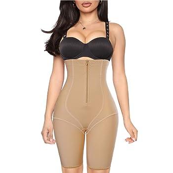 YERKOAD Waist Trainer for Women Shapewear Tummy Control Panty High Waist Butt Lifter Body Shaper Shorts Thigh Slimmer Girdle