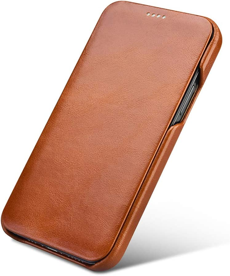 Leather Flip Case for iPhone 12 Pro Max 6.7