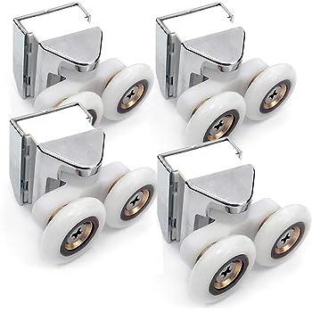 Rodamiento para Mamparas de ducha modelo tipo Metalkris (Pack de 4): Amazon.es: Bricolaje y herramientas