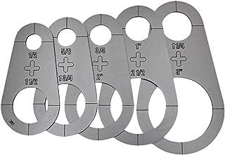 Plasma Stencil - Circle Cutter Guide - 5 pc. Kit - .380