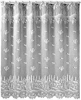 Heritage Lace Pinecone 72-Inch by 72-Inch Shower Curtain, Ecru